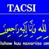 Tacsi My Socota Reer Cumar Yusuf Sii Arag
