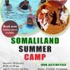 Hamoogaan SOMALILAND SUMMER CAMP Summer Camp Hadaad Ubadkaaga Jeceshahay