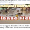 Somalilanders in the US raising money for the Cyclone –affected people and encourages self-reliance of Somaliland nationals