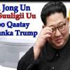 Kim Jong Un Iyo   Suuligii  Uu U Soo Qaatay Kulanka Trump