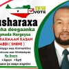 Hambalyo iyo Taageero Ku Socota Musharaxa Golaha Deegaanka Caasimada ee Doorashada 2019 Musharax C/raxmaan Xasan Cabdi (Shiine)