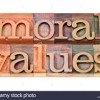 When Moral Value Beats Material .  By Noah Arre