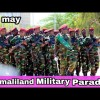 Watch:  Somaliland Military Parade 18 may~ somaliland national dayand the greatest power they have exhibited