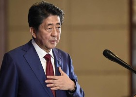 Tokyo will strive to sign peace treaty with Russia, Japanese PM says